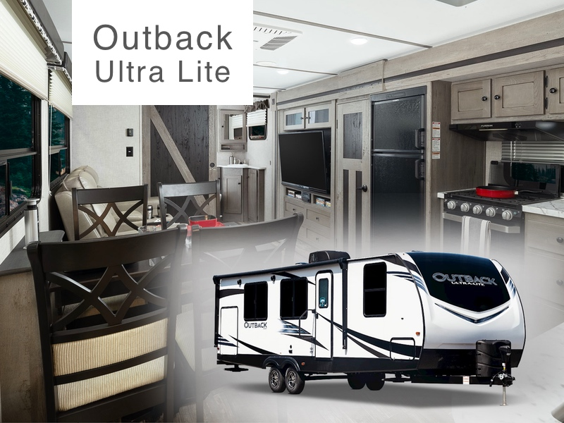 Roulottes Outback Ultra-Lite